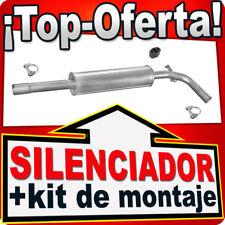Silenciador Intermedio SEAT CORDOBA IBIZA VW POLO 1.0 1.3 1.4 1.6 1.9D NNJ