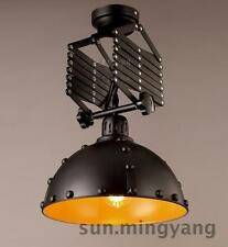 Industrial Scissor Pendant Riveted Ceiling Lamp E27 Light Adjustable Lights