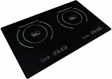True Induction Ti-2B Counter Inset Double Burner Induction Cooktop Refurbished