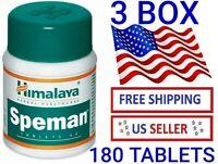 3 BOX 180 Tablets Himalaya Speman Enhance Sexual Desire TREATMENT EXP 12/2022