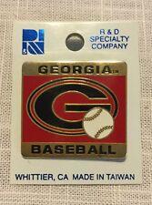 Georgia Bulldog Pin
