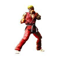 Bandai Street Fighter Ken Masters Figuarts Action Figure NEW Collectibles