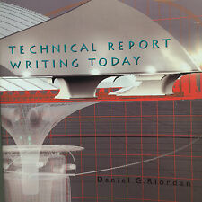 Technical Report Writing Today by Daniel Riordan Steven Pauley 9th Edition