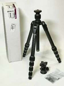FLM CP26 Carbon Fiber Travel Tripod w/ Joby Ball Head, Made in Germany Excellent