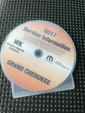 2017 JEEP GRAND CHEROKEE Workshop Service INFORMATION Shop Repair Manual CD NEW