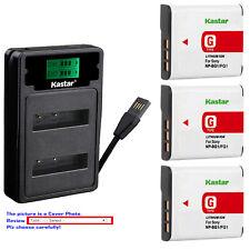 Kastar Battery LZD2 Charger for Sony NP-BG1 NPFG1 Sony Cyber-shot DSC-HX9 Camera