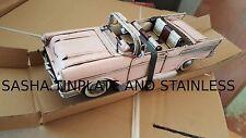 CHEVY CHEVROLET BEL AIR 1957 tin toy tinplate car blechmodell voiture handmade