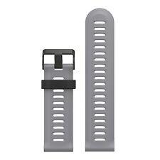 Thunder Grey Wristband Band Strap Bracelet Accessories For Garmin Fenix / Hr 3