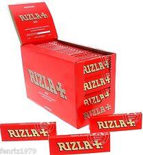 RIZLA RED REGULAR FULL BOX 100 PACKS X 50 LEAVES