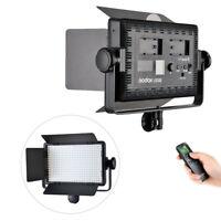 Godox LED500W 5600K White Bulb LED Video Continuous Light Lamp Panel w/ Remote