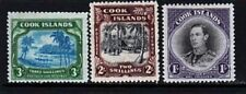 Cook Isl. Sc 112-4 set of 1938 - NH King George VI issue