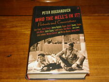 WHO THE HELL'S IN IT?BY PETER BOGDANOVICH-SIGNED COPY