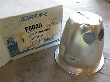 NEW Advantage Lighting  F602A Clear Anodized Reflector 941529 *FREE SHIPPING*