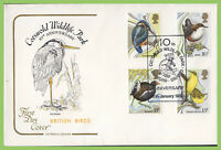 G.B. 1980 Birds set on Cotswold official First Day Cover, Cotswold Wildlife Park