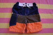 ** Venta ** nuevo Mini Boden Surf Shorts Swim - 9 a 10 años de edad-Navy Cut & Sew