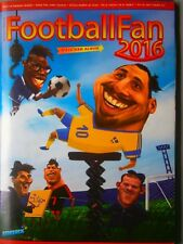 Complete EURO 2016 France Caricatures Football Fan Album + Panini Sticker