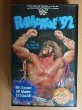 WWF Rampage 92 VHS deutscher Kommentar WWE Ultimate Warrior