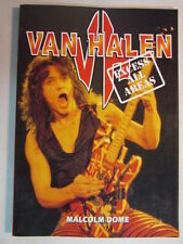 fd8488e3f93 VAN HALEN EXCESS ALL AREAS PAPERBACK BOOK MALCOM DOME 144 PAGES CLASSIC ERA  OOP
