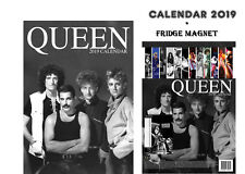 QUEEN CALENDAR 2019 + QUEEN FRIDGE MAGNET