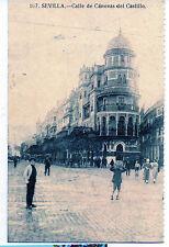 España Sevilla Postal Calle de Canovas del Castillo (CB-543)