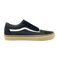Vans Old Skool Gumsole Black Medium Gum Men's 13 Skate Shoes New