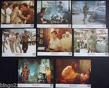 SAIGON ORIGINAL 1988 LOBBY CARD SET WILLEM DAFOE GREGORY HINES FRED WARD