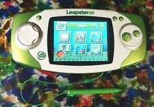 LeapFrog Leapster GS Green 39700 Handheld Electronic Learning System With Stylus