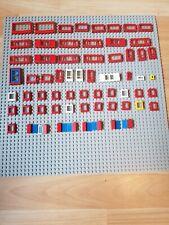 Lego Fenster und Türen Konvolut aus älteren Lego Themenbereichen, 60 tlg.