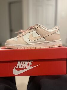 100% Authentic New Womens Nike Dunk Orange Sail Pearl Sz 8 W / M 6.5 Confirmed!