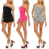 Nike Solid Terry cover-up one-piece playsuit romper jumpsuit summer mini dress