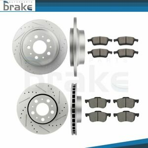 2001 2002 2003 Volvo V70 OE Replacement Rotors w//Ceramic Pads F+R