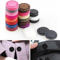 5 Paare unsichtbarer magnetischer runder Druckknopf-Handtaschen-Geldbeutel