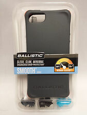 Ballistic LS Smooth TPU Gel Case w/Color Bumpers for iPhone SE iPhone 5S (Gray)