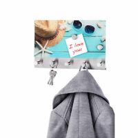 WENKO Memoboard Hakenleiste Haken Garderobe Kleiderhaken unbenutzte B-Ware