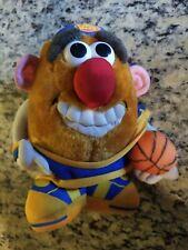 "VTG Mr Potato Head 8"" Plush Stuffed Doll~1999 Hasbro/Nanco ~Basketball Player"