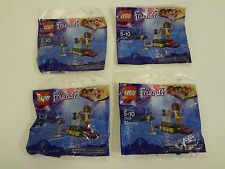Friends Lego 30205 POP STAR RED CARPET POLY BAG 33 PCS BUNDLE OF 4 FREE SHIPPING