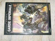 $$$ Livre CodexWarhammer 40000Garde ImperialeDevoir et honneur