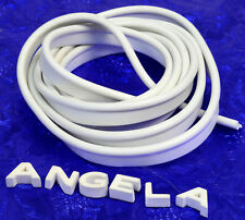 "British Style White Amp / Speaker Cab Piping 50"" Marshall NEW! Amplifier Cabinet"