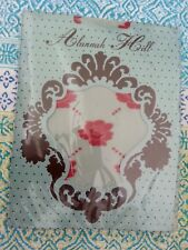 """* ALANNAH HILL vintage * Sz O/S """"All Fenced In"""" pink roses stockings! NIP"""