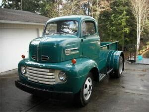 48-52 Ford/Mercury Truck SHOWCARS Cab Over Engine Left Side Skirt (FM44)