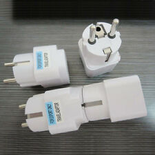 US UK AU To EU Europe Travel Charger Power Adapter Converter Wall Plug HomeSC