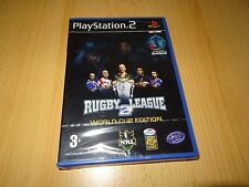 SUPER RUGBY LEAGUE 2 - WORLD CUP EDITION - PLAYSTATION PS2 BRAND NEW