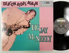 BIG JAY McNEELY Deacon Rides Again Import Reissue LP CC