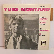 YVES MONTAND Grands boulevards ... MOE 2030