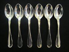 WMF Sächsisches Hofmuster 6 Menülöffel 90 Silber 19,3 cm 6 Teile Note 1-2 Löffel
