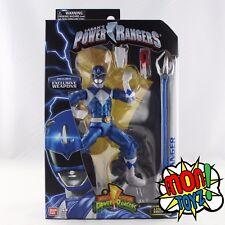 Blue Mighty Morphin Power Ranger Metallic Legacy Action Figure Bandai 2017 HTF