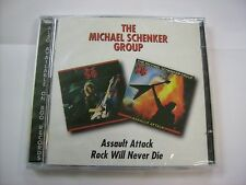 MSG - ASSAULT ATTACK / ROCK WILL NEVER DIE - 2CD SIGILLATO BGO