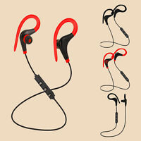 NEW Sweatproof Wireless Bluetooth 4.1+EDR Earphones Headphones Headset Sport GyL