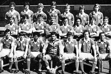 PETERBOROUGH UNITED FOOTBALL TEAM PHOTO>1980-81 SEASON
