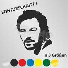 """Bruce Springsteen """"The Boss"""" Autoaufkleber Sticker Aufkleber (3 Größen)"""